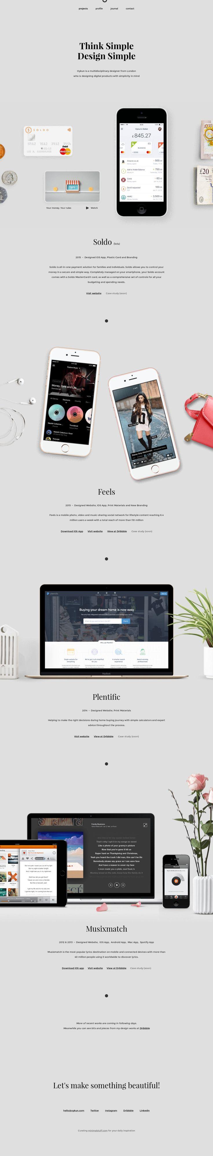Oykun – Product Designer