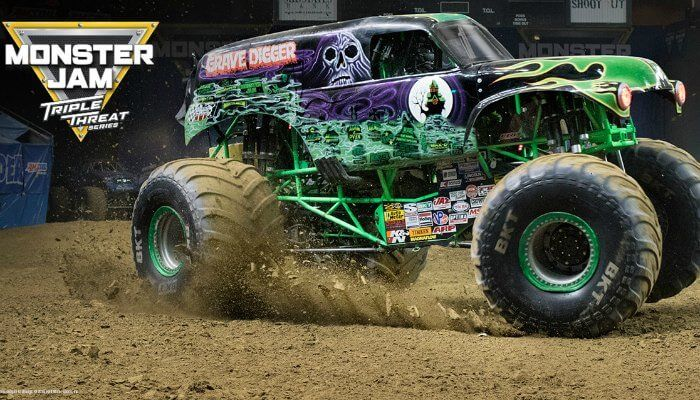 Grave Digger and El Toro Loco are Popping Wheelies and Backflipping Into Grand Rapids for Monster Jam - grkids.com