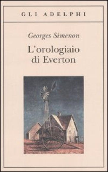 Simenon, L'orologiaio di Everton.  #Simenon #Books