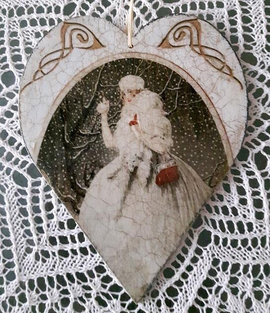 Prekrásny porcelánový krakel oživí interiér. Autorka: dadula56. Krakel, dekupáž, decoupage, vintage, diy, hand made, ručné práce. Artmama.sk