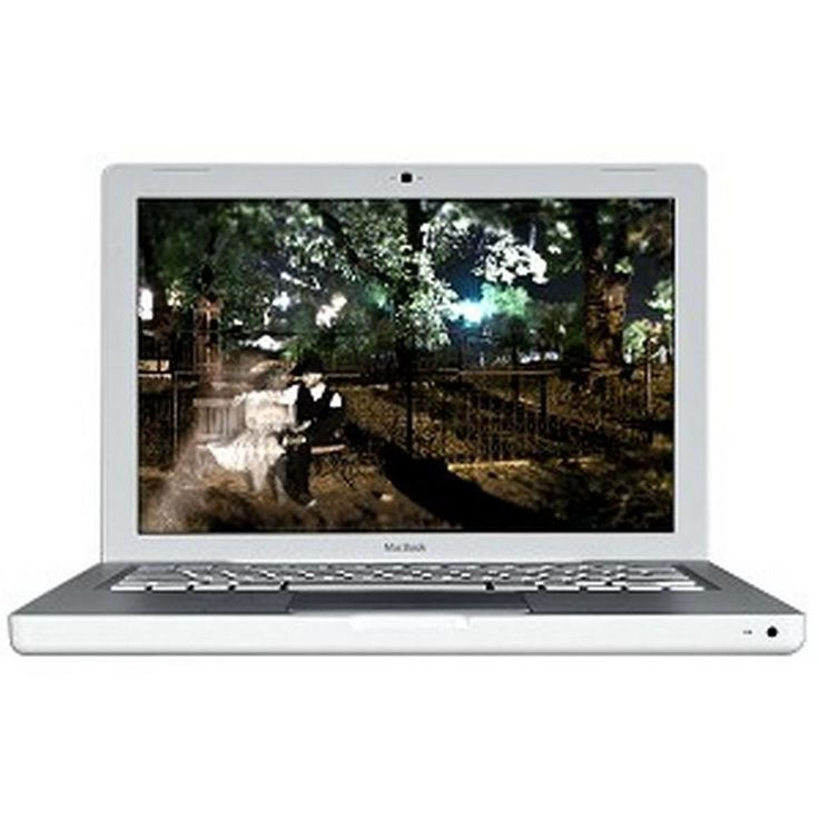 Apple MacBook Core 2 Duo T7400 2.16GHz 1GB 120GB DVD±RW 13.3 Notebook AirPort OS X w-Webcam (Mid 2007) - B