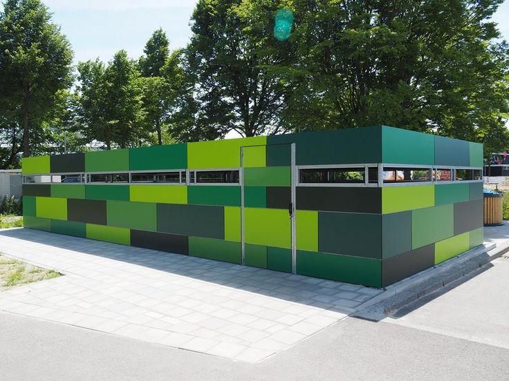 Groene fietsenstalling voor gemeente Hengelo