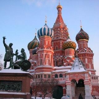 Basilique Saint Basile, Place Rouge. Moscow