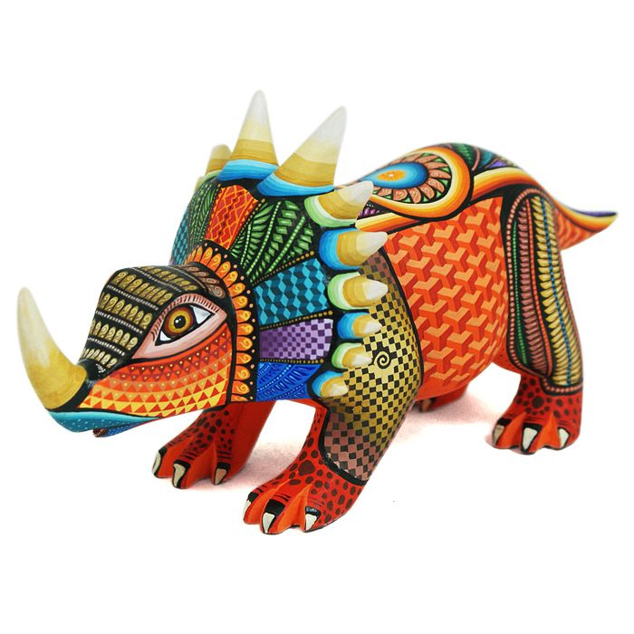 www.artesaniasmarymar.com    Jose Calvo & Magaly Fuentes: Dinosaur