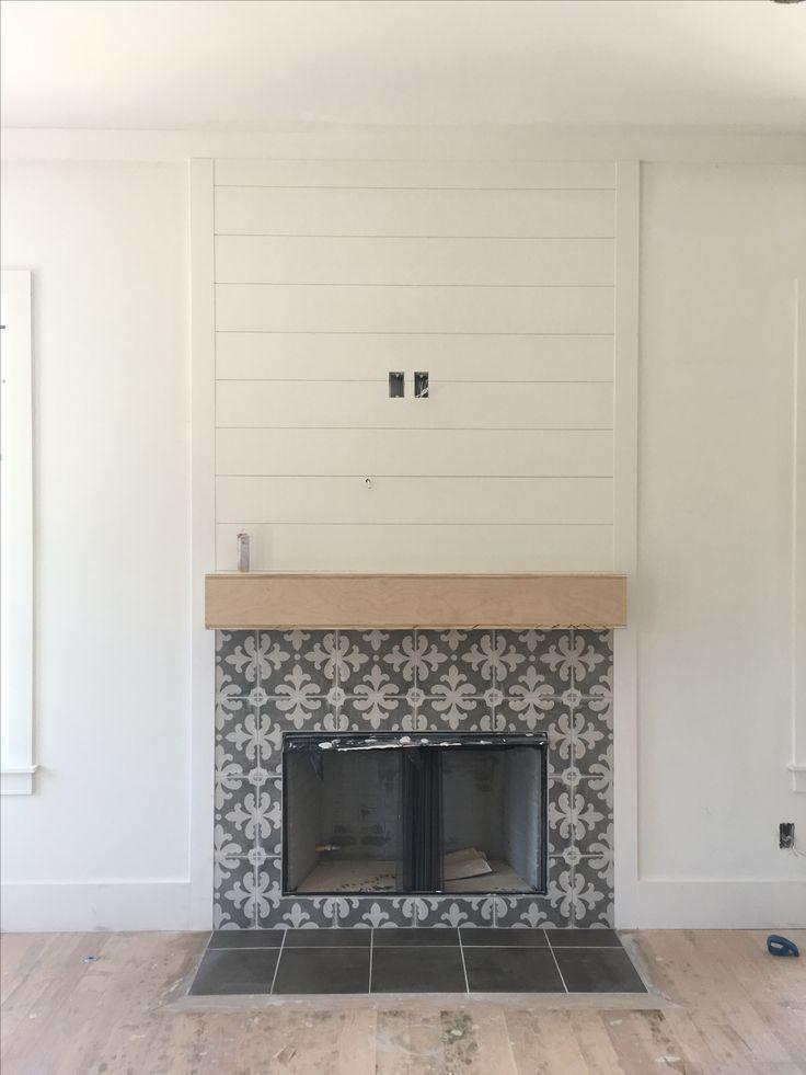 Best 25 Shiplap Fireplace Ideas On Pinterest Fireplace