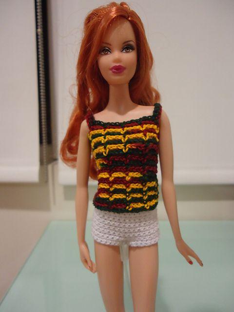 Mejores 129 imágenes de Barbie Summer Crocheted en Pinterest ...