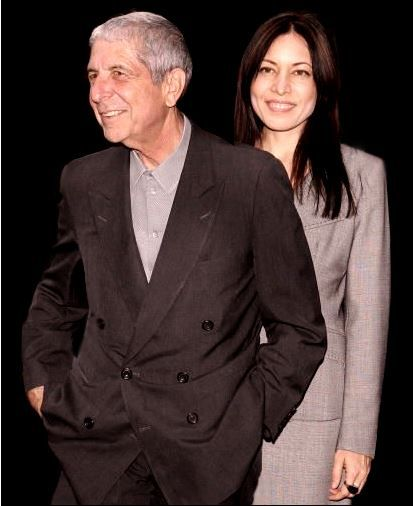 LOS ANGELES - JUNE 24: Singer/songwriter/poet Leonard Cohen and Anjani Thomas attend the Los Angeles premiere of the film Leonard Cohen Im Your Man on June 24, 2006 at the John Anson Ford Amphitheatre during the LA Film Festival in Los Angeles, California.