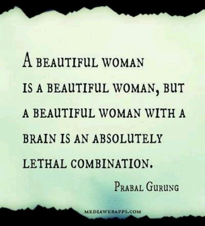 Smart Quotes: Beautiful Smart Women