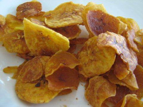 I found a recipe for Platanutres, which is the Puerto Rican's version of a potato chip. It is made with green plantains, salt for seasoning, and oil for frying. They can also be baked. I could see this being served as maybe a snack for everyday life, since plantains are very common in the country of costa rica.