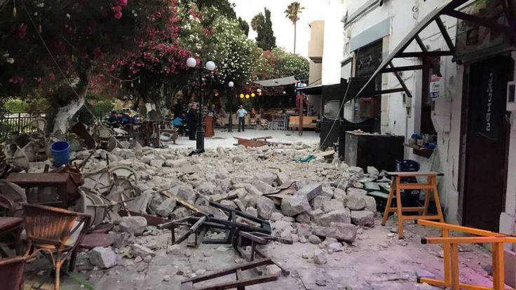 INGV Terremoti ha confermato il terribile terremoto di magnitudo 6,7 avvenuto questa notte nel Mar Egeo, al confine tra Grecia e Turchia. Le zone più vicin