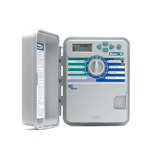 hunter 12 station xchybrid sprinkler system controller xch1200 continue to the product at the