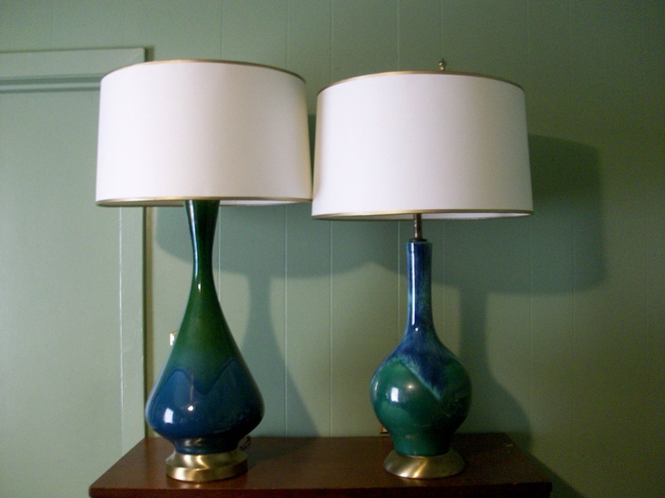 Pair of Gorgeous Vintage Lamps