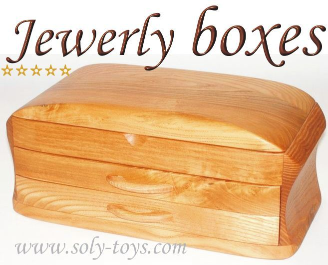 Jewelry Boxes wooden