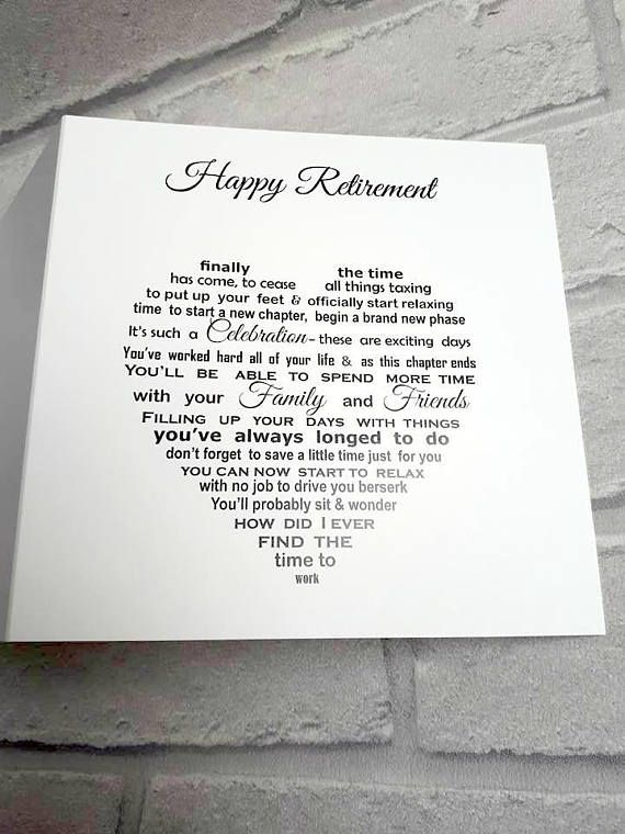 Retirement card Happy Retirement Congratulations on your