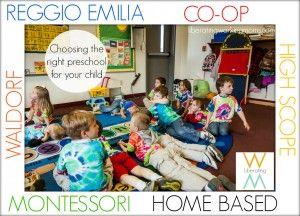 Montessori Schools vs. Reggio Schools: The Differences in these ECE Disciplines