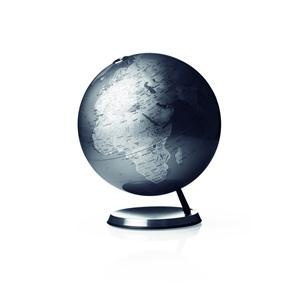 World Globe - beautiful in silver.