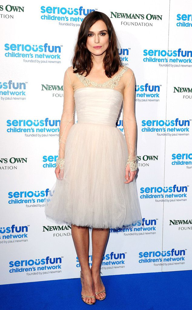The actress recycled her Chanel Haute Couture wedding dress on the red carpet not once but twice!