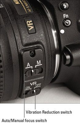 setting automatic features w/ nikon d5100