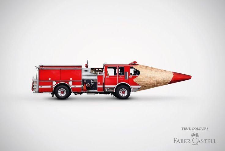 "R10. Gráficas de Faber-Castell de la campaña ""True Colours"".  #RetoVisual0911 #CA0911"