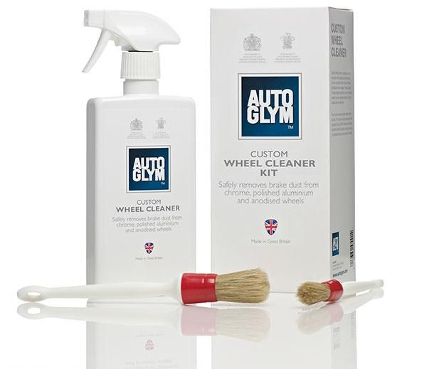 Autoglym CWCKIT Custom Wheel Cleaner Kit with 2 different sized brushe