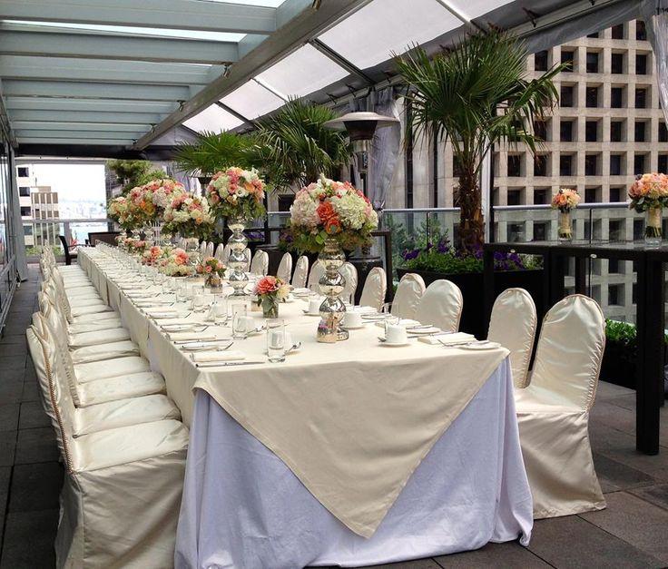 An Intimate Reception At The Shangri La Hotel Vancouver Elegant And Beautiful LaWedding VenuesWedding