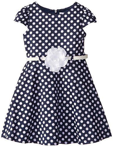 Sweet Heart Rose Little Girls' Polka Dot Ponte Fashion Dress, Navy, 2T Sweet Heart Rose http://www.amazon.com/dp/B00OTX2AK2/ref=cm_sw_r_pi_dp_jQG2ub1JFYZPJ