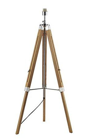 Floor Lamp Bases Only: DAR EAS4943 Easel Wooden Tripod Floor Lamp (Base Only),Lighting