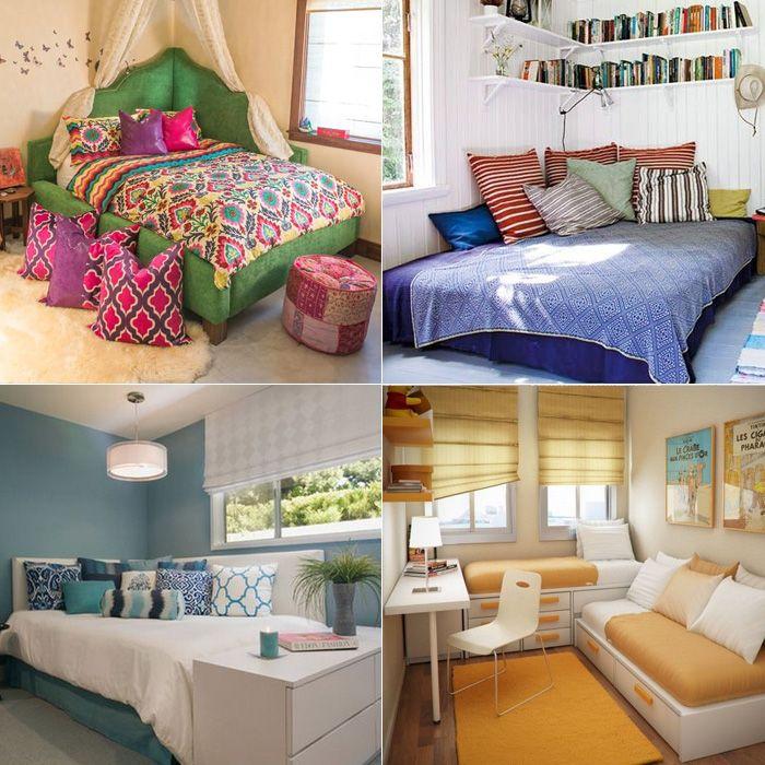 <p>Já tentoudeixar a sua cama encostada no canto do seu quarto, entre duas paredes? Essa é a ideia do post de hoje! Trouxemos inspirações de camas de cantinhoque, em geral, possuem duas cabeceiras. A ideia é boa, né? Você já tinha visto? A cama fica com uma vibede sofá, bem confortável, e pode deixar o […]</p>