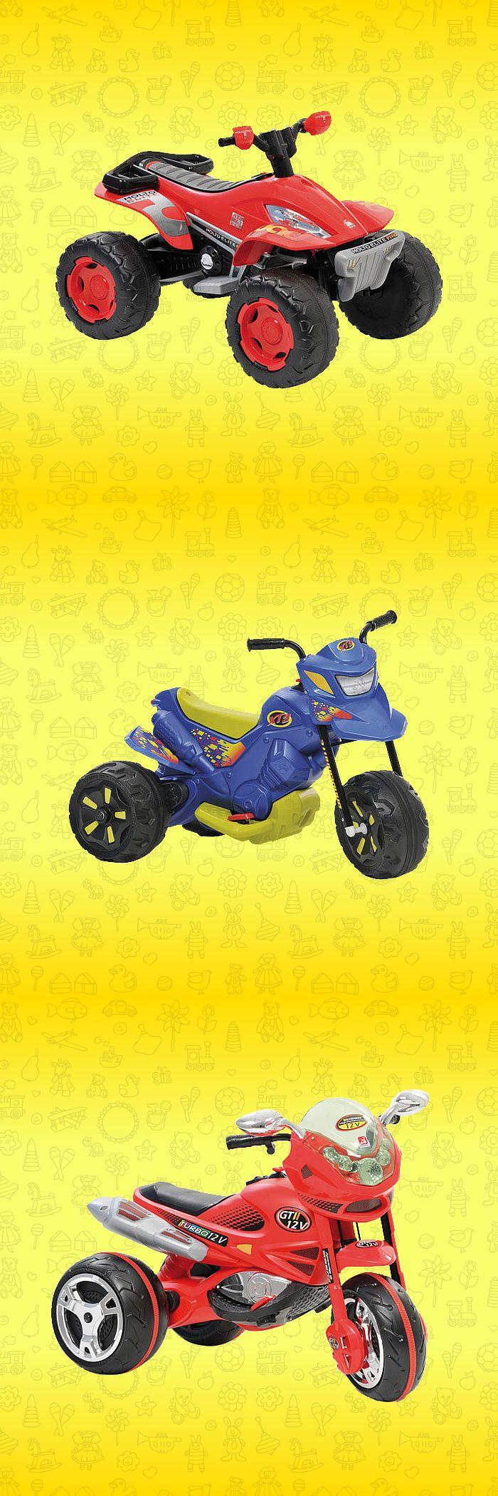Garanta a diversão das crianças! Veja estes modelos de motos elétricas: http://www.colombo.com.br/produto/Brinquedos/Motos-Eletricas?utm_source=Pinterest&utm_medium=Post&utm_content=Motos-Eletricas&utm_campaign=Produto-3jan14-14h