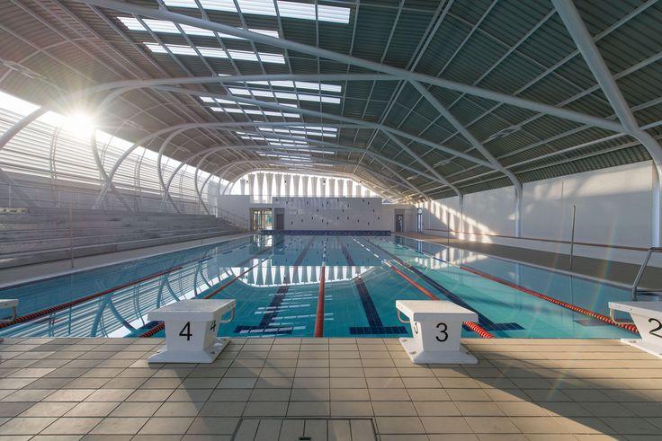 Centro acuático AISJ  / Flansburgh Architects