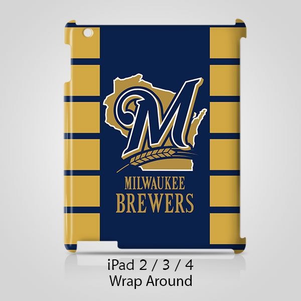 Milwaukee Brewers iPad 2 3 4 Case Cover