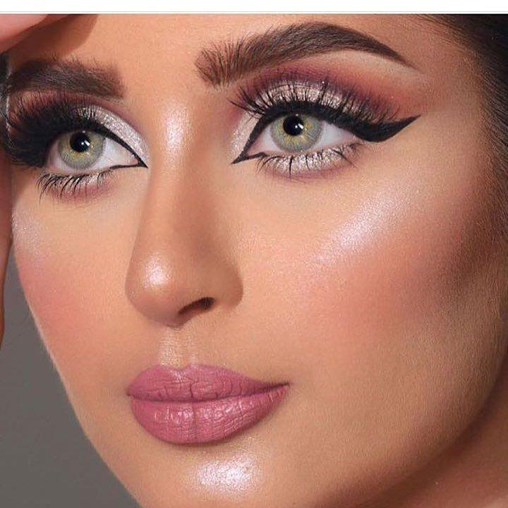 ميكب الارتست حراير 7arayer Artist الكوافيره أميره Amirahst Arabian Makeup Eye Makeup Makeup Inspiration
