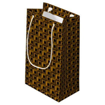Barnacles in Gold Gift Bag - black gifts unique cool diy customize personalize