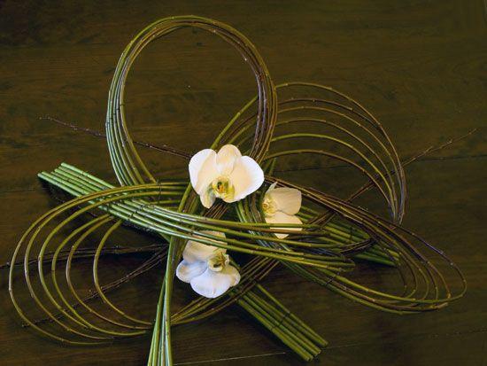 Cloverleaf Branches + Orchids - Stef Adriafnssens