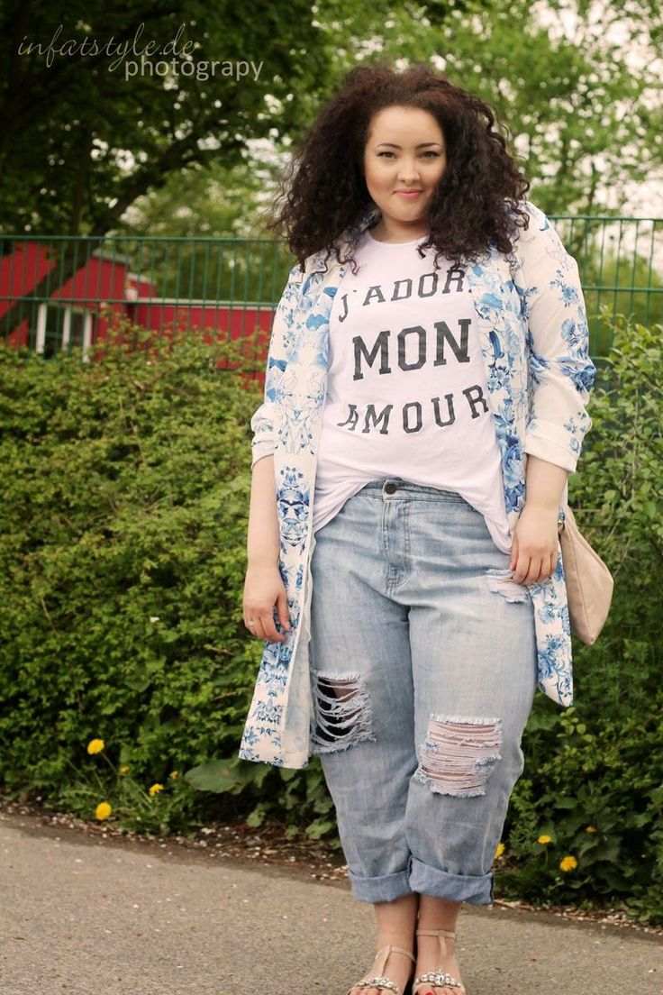 Schauen Sie sich Mode für kurvenreiche Frauen an