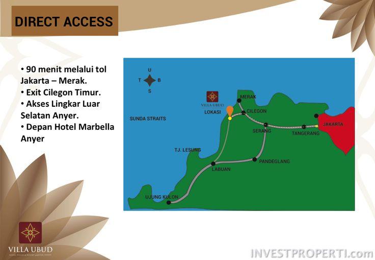 Akses menuju Villa Ubud Anyer