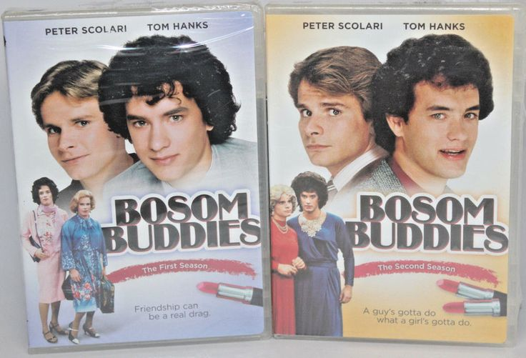 BOSOM BUDDIES Seasons 1 & 2 dvd lot Tom Hanks Peter Scolari