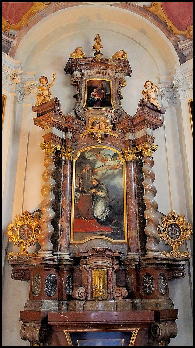 570 best baroque and rococo churches images on pinterest for Churches of baroque period