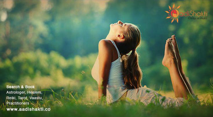 Angel healing brings happiness after a spiritual healing session www.aadishakti.co