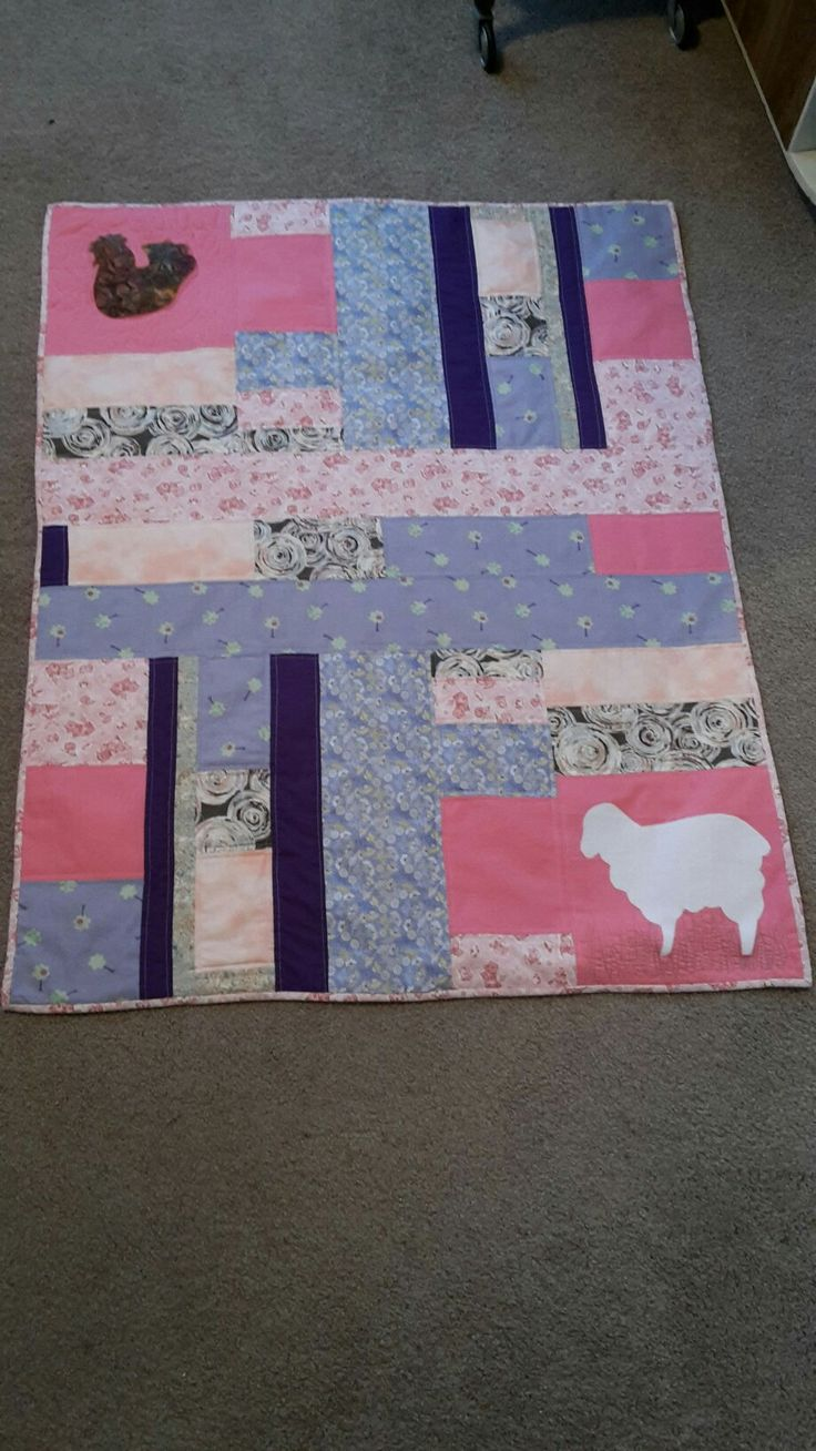 Baby quilt - May 2016