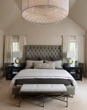 Napa Chic-Transitional Master Bedroom transitional-bedroom