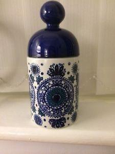Vintage Arabia Finland Hilkka Liisa Ahola Lidded Jar