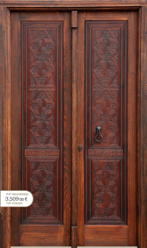 41 best puertas images on pinterest entrance doors - Puertas rusticas alpujarrenas ...