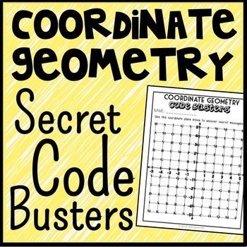 This Coordinate Geometry Code Busters activity is a unique and fun way to practice plotting and naming points all four quadrants of the coordinate plane. In this game, each point on the coordinate plane corresponds with a letter in the alphabet.