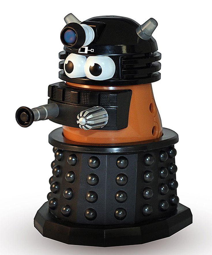 Doctor Who Dalek Mr. Potato Head by Doctor Who #zulily #zulilyfinds