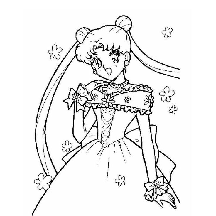 coloriage fille princesse a imprimer gratuit