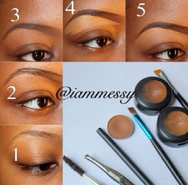 Steps to gorgeous eyebrows