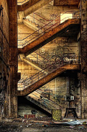 Stairway to Nowhere, Geelong, Australia