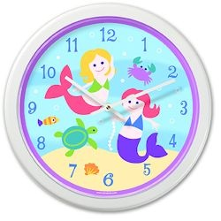 Wall Clock - Olive Kids - Mermaids