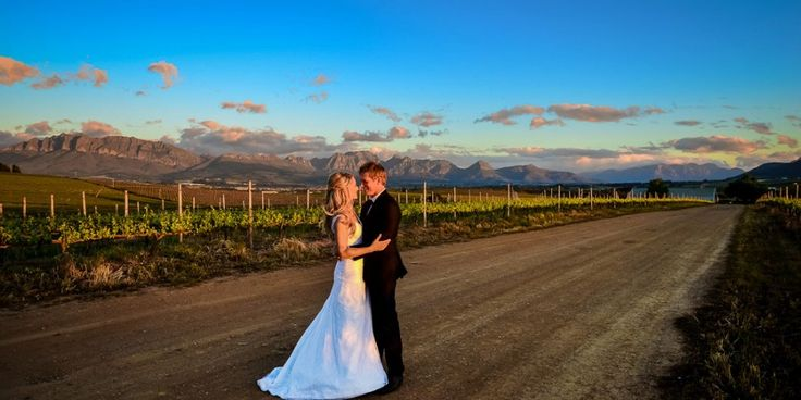South African Cape Winelands Wedding destination.